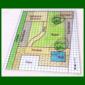 Gartenplan Zeichnen, maßstabgerechten Plan des Gartens zeichnen