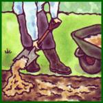 Nährstoffarme Böden im Garten verbessern