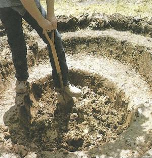 Miniteich im Garten