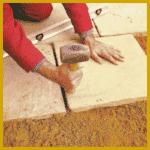Natursteinplatten für Wege und Terrasse, Planung und Maße