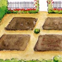 Formaler Bauerngarten